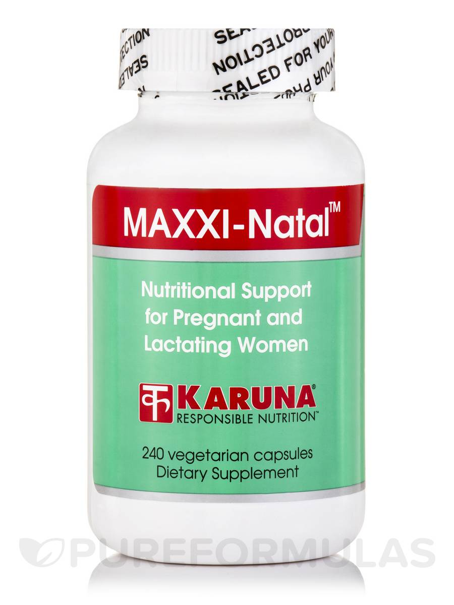 MAXXI-Natal - 240 Vegetarian Capsules