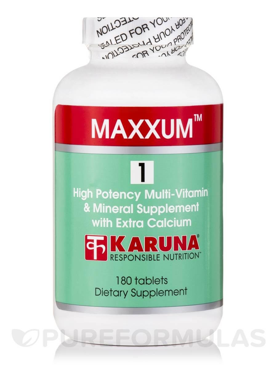 Maxxum 1 - 180 Tablets