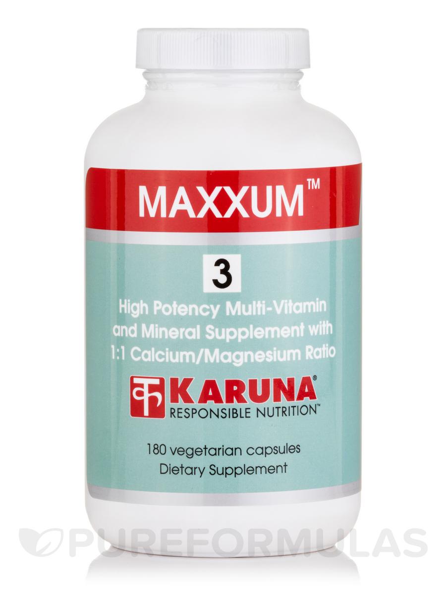 Maxxum 3™ - 180 Vegetarian Capsules