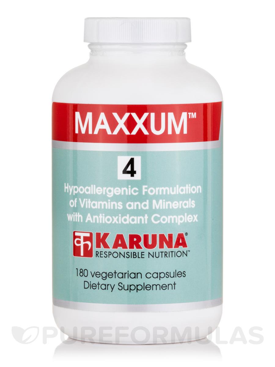 Maxxum 4 - 180 Vegetarian Capsules