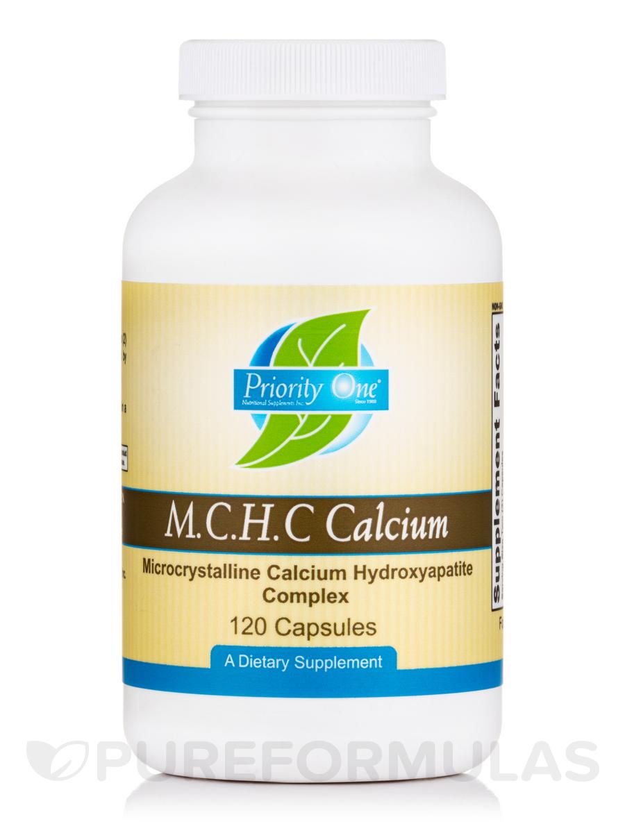 M.C.H.C. Calcium - 120 Capsules