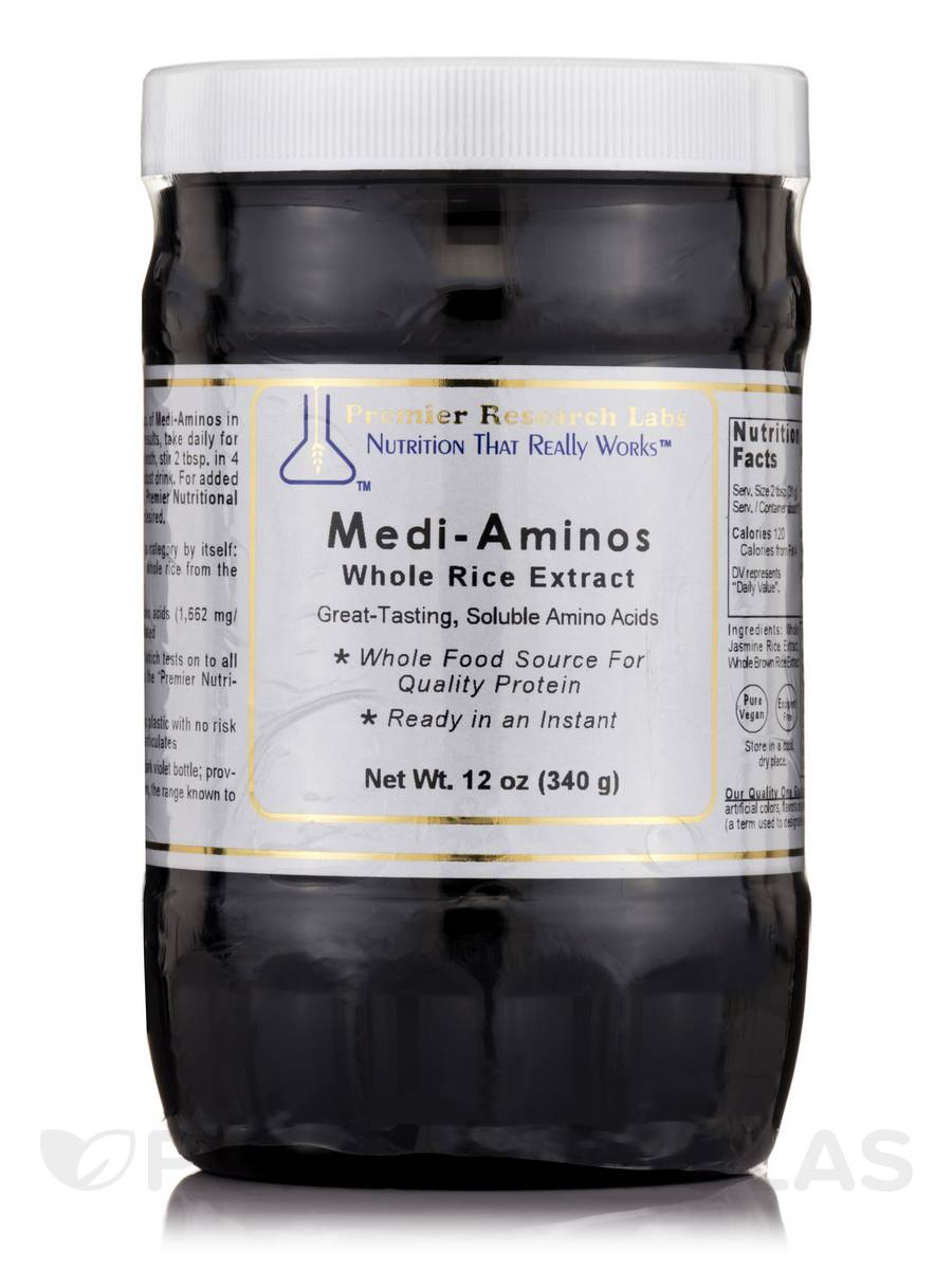 Medi-Aminos (Whole Rice Extract) - 12 oz (340 Grams)