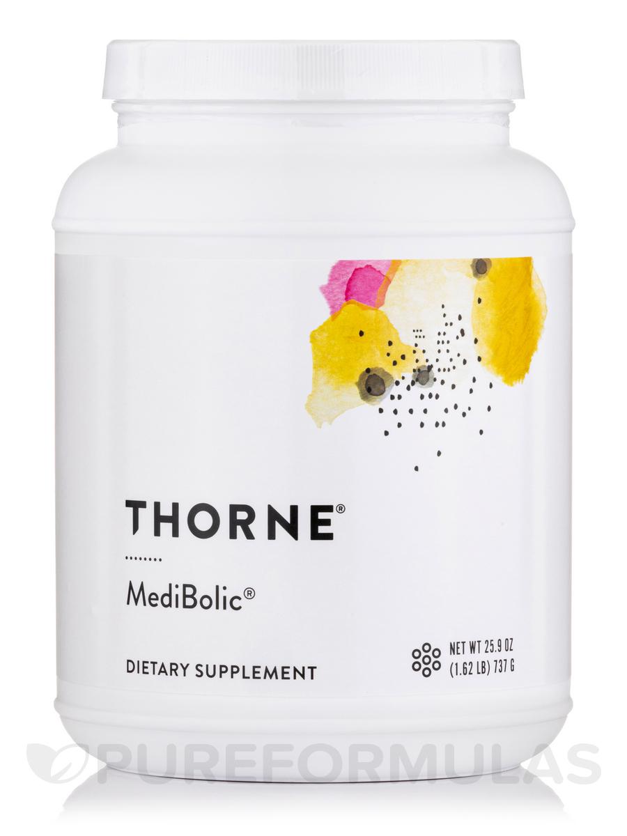 MediBolic® with Madeglucyl® Vanilla-Cinnamon Flavor - 20.74 oz (588 Grams)