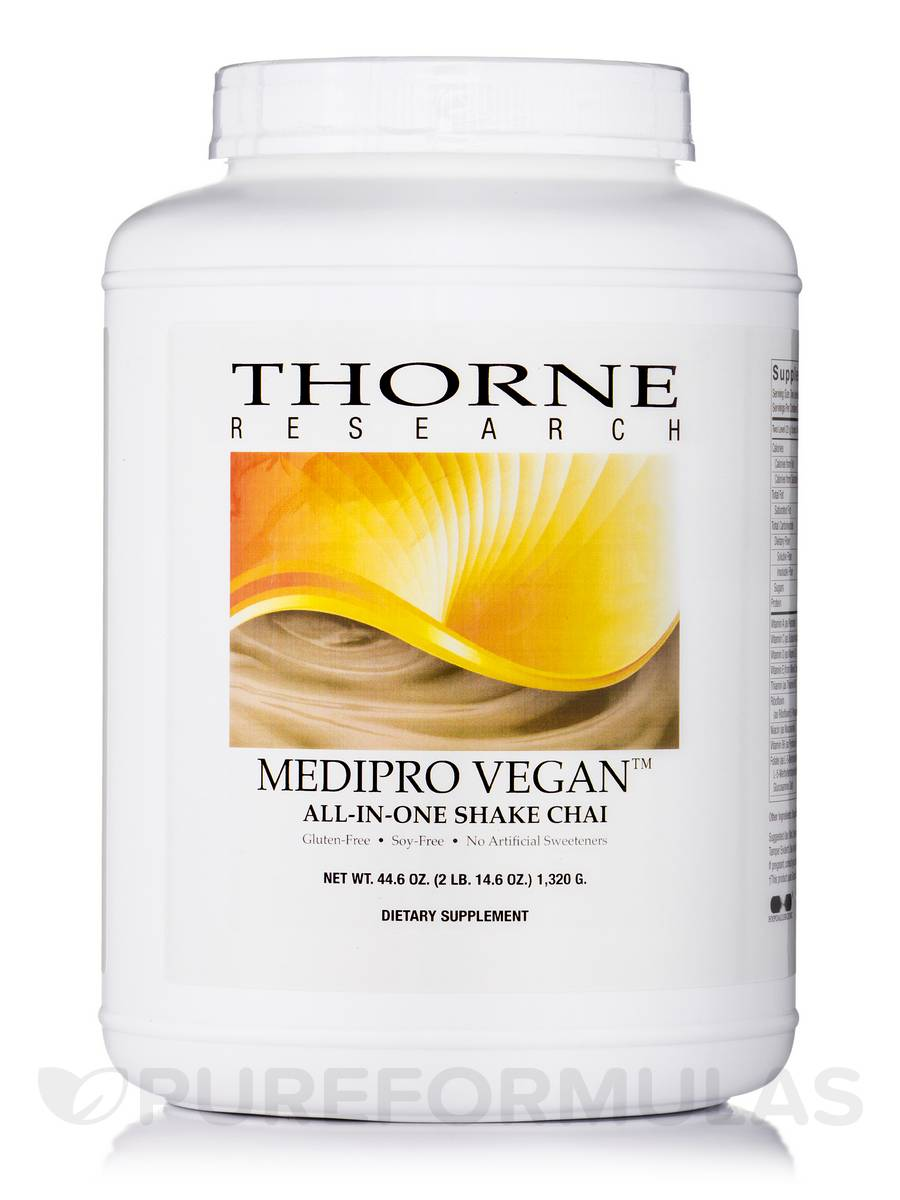 MediPro Vegan All-In-One Shake Chai - 44.6 oz (1320 Grams)