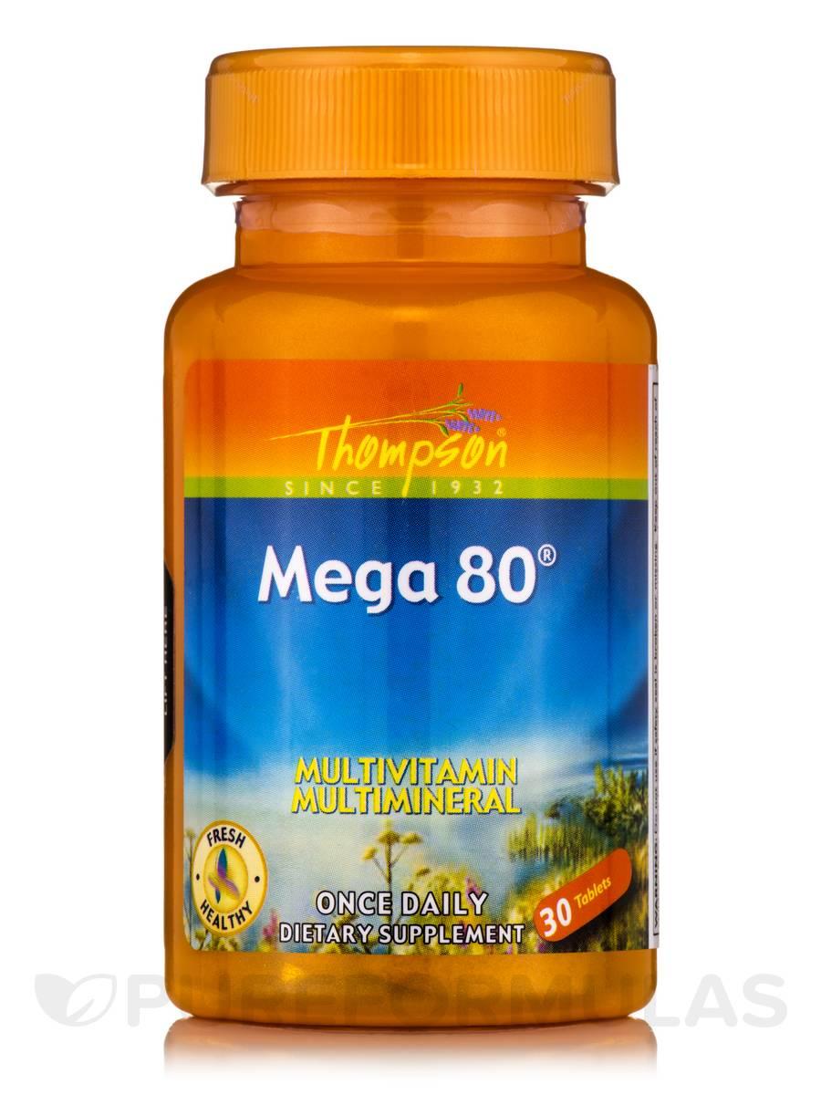 Mega 80® - 30 Tablets