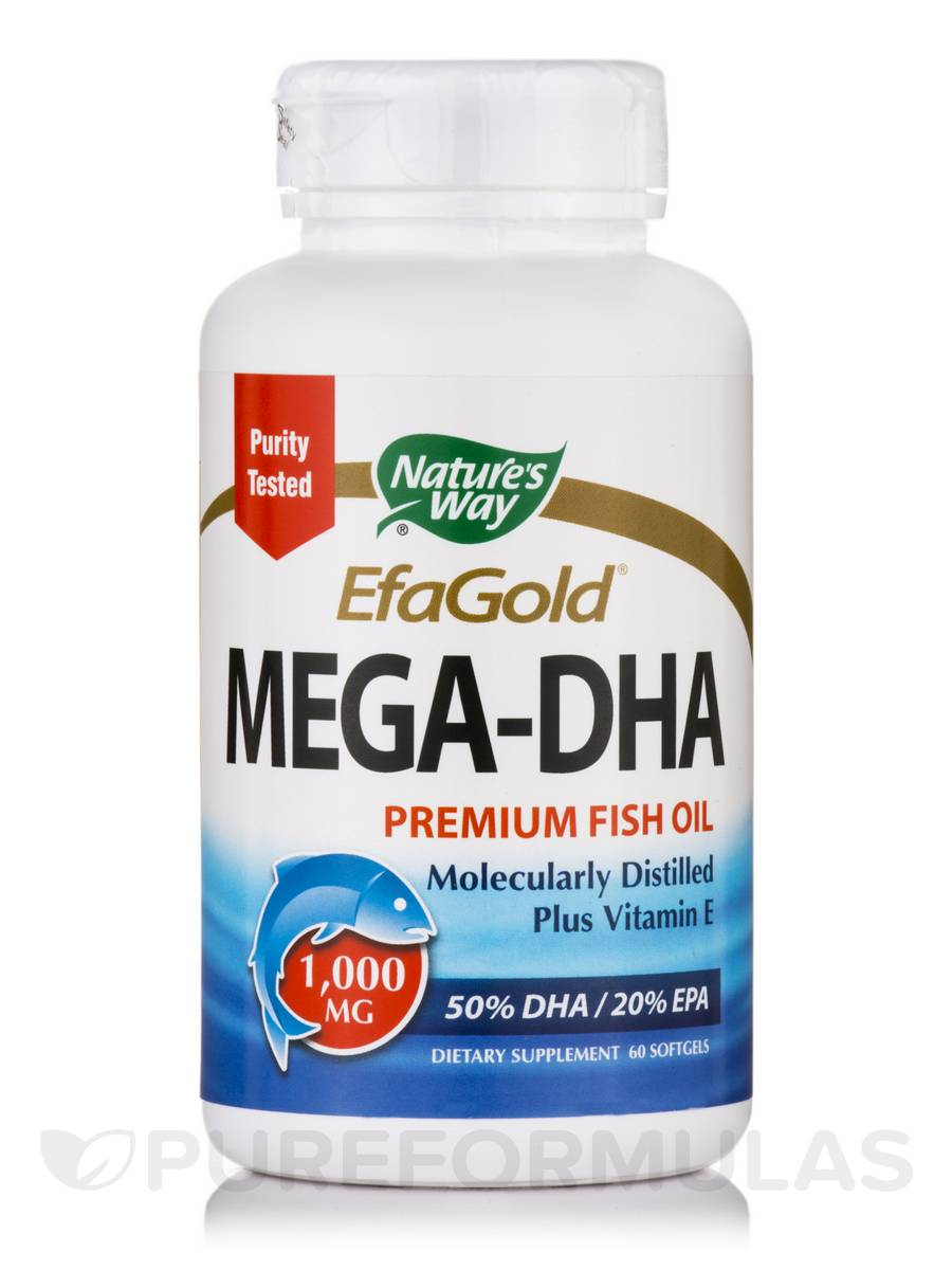 Mega-DHA - 60 Softgels