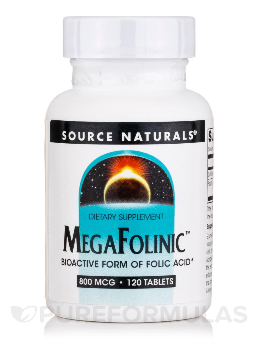 MegaFolinic™ 800 mcg - 120 Tablets
