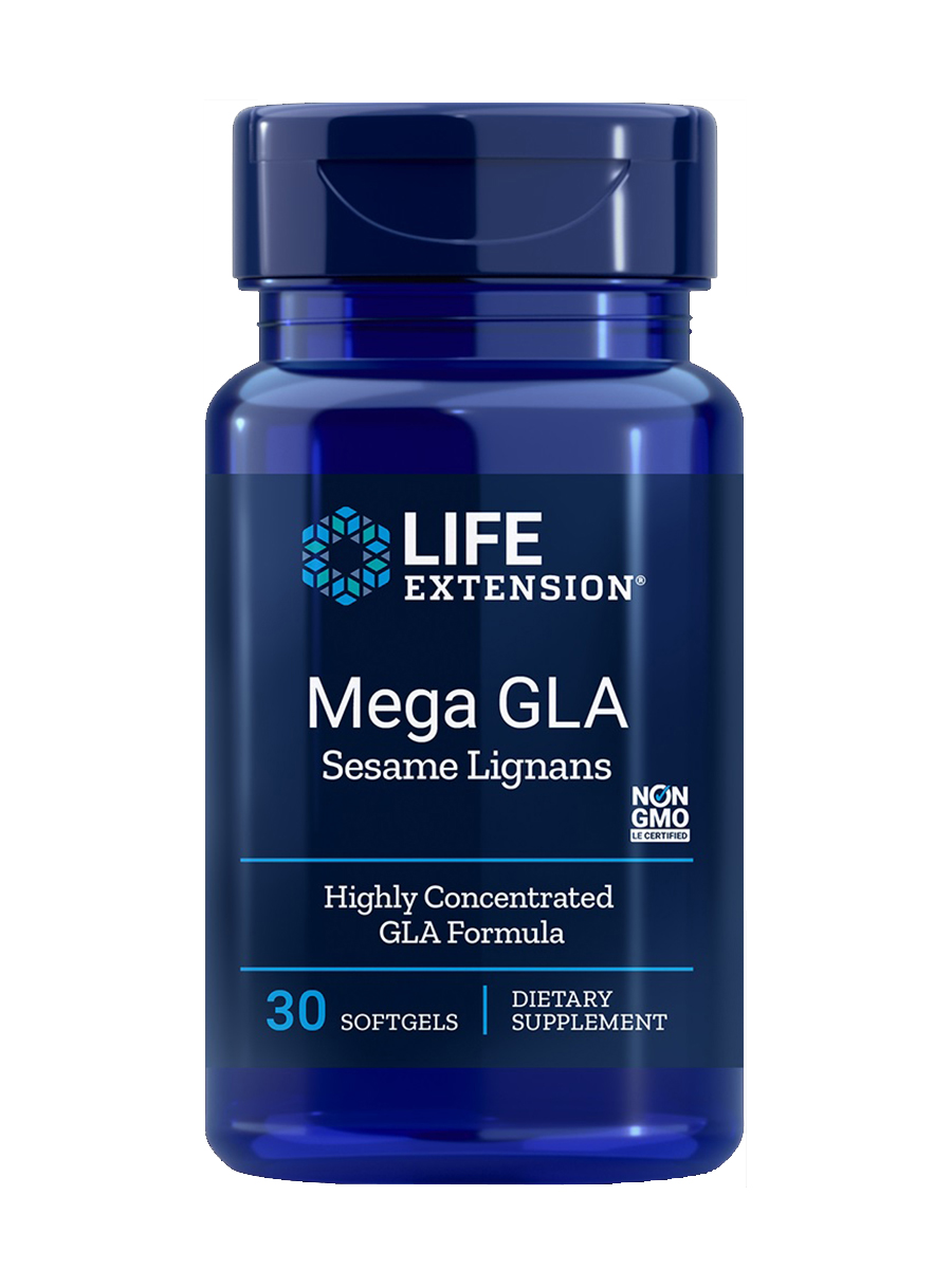 Mega GLA with Sesame Lignans - 60 Softgels