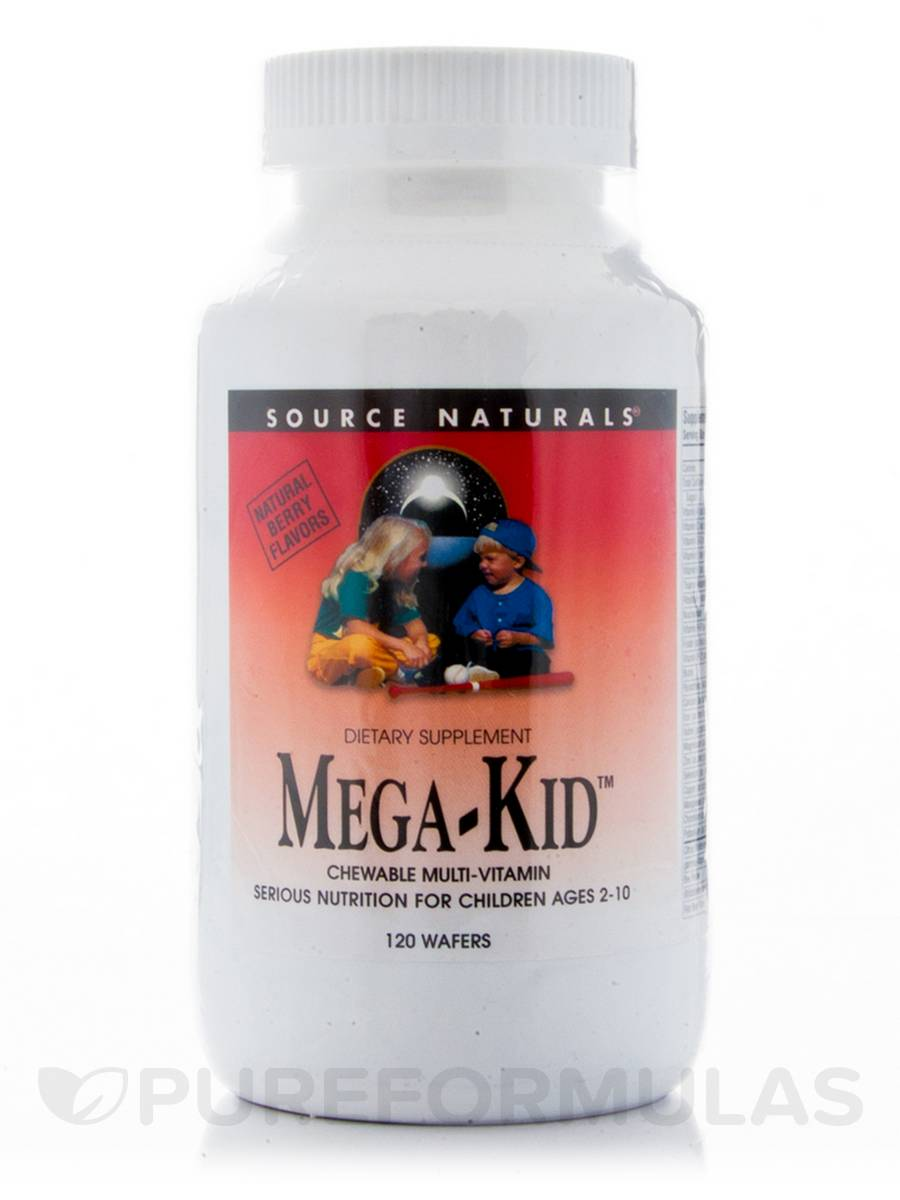 Mega Kid Chewable - 120 Wafers