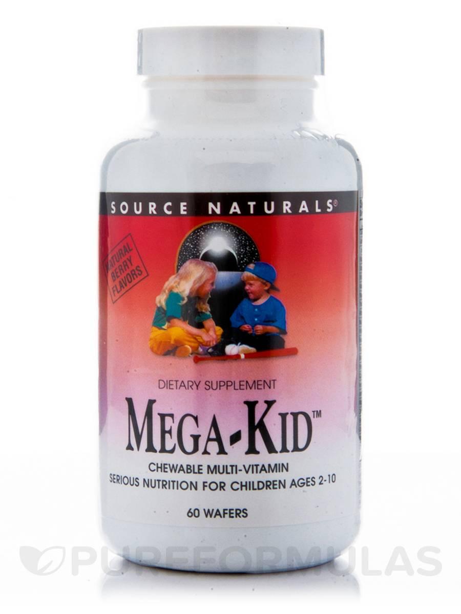 Mega Kid Chewable - 60 Wafers