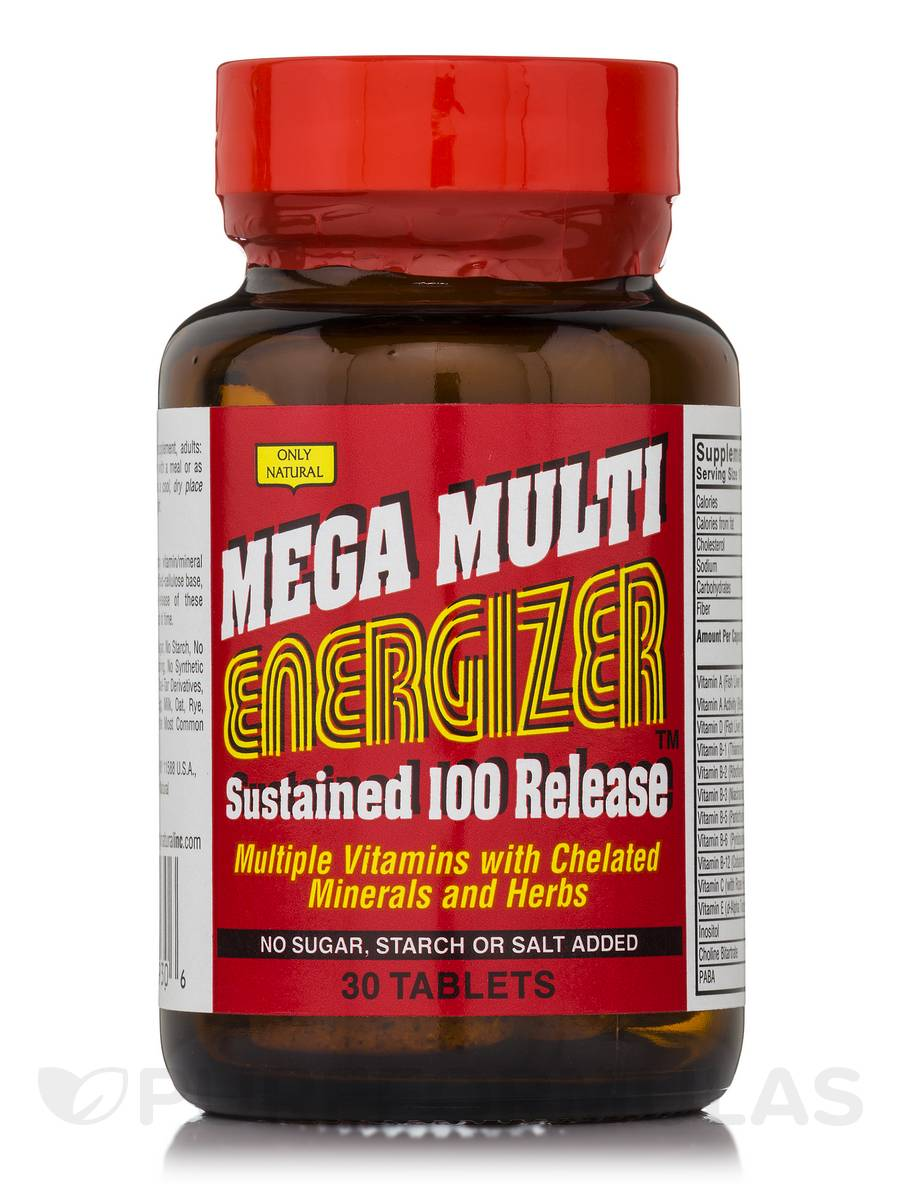 Mega Multi Energizer - 30 Tablets