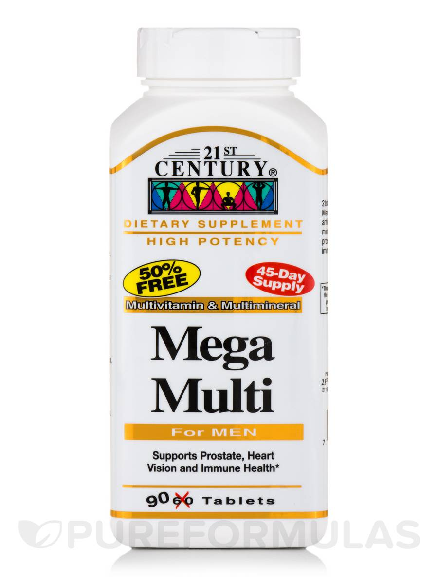 Mega Multi For Men - 90 Tablets