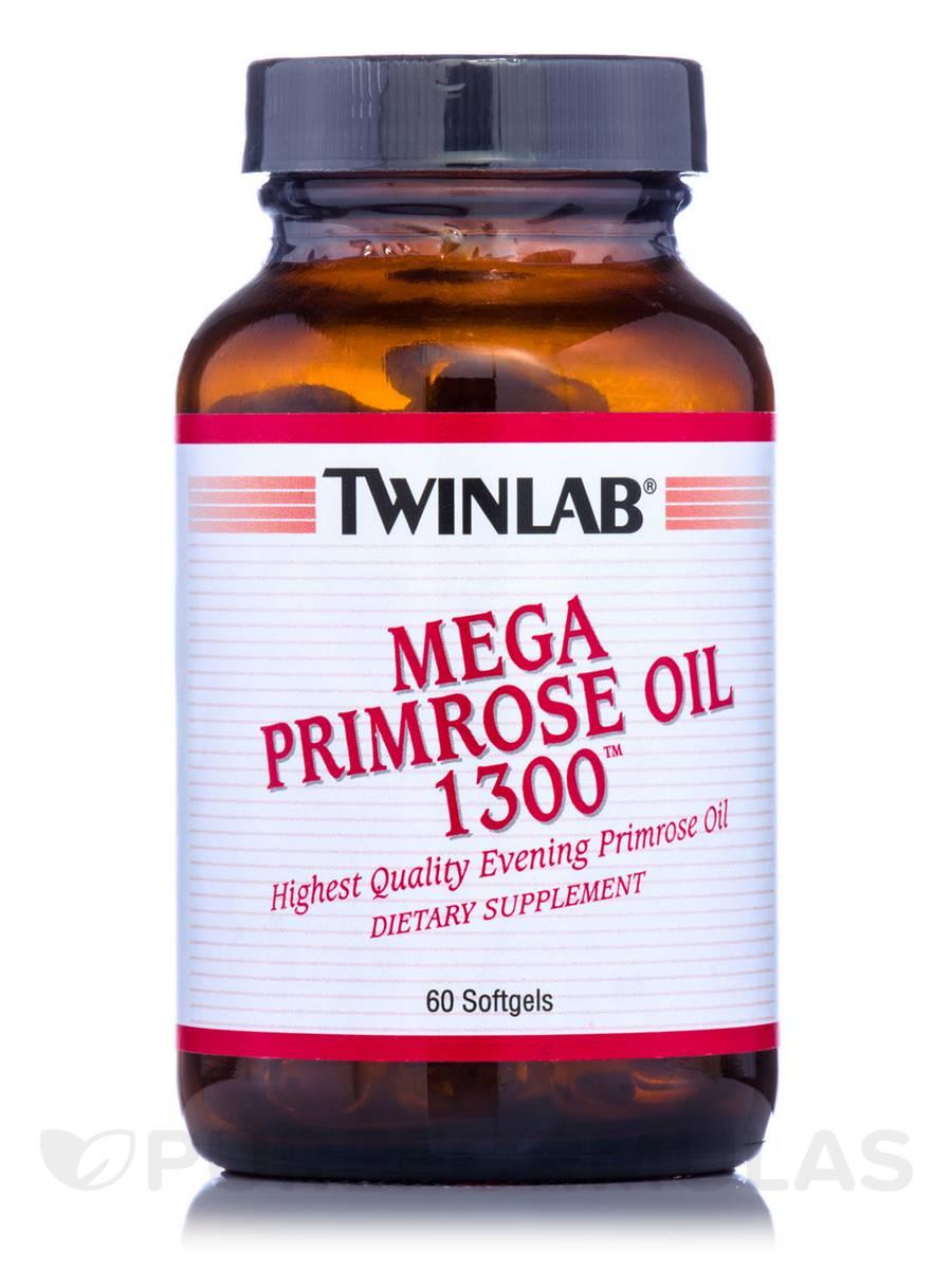 Mega Primrose Oil 1300 - 60 Softgels