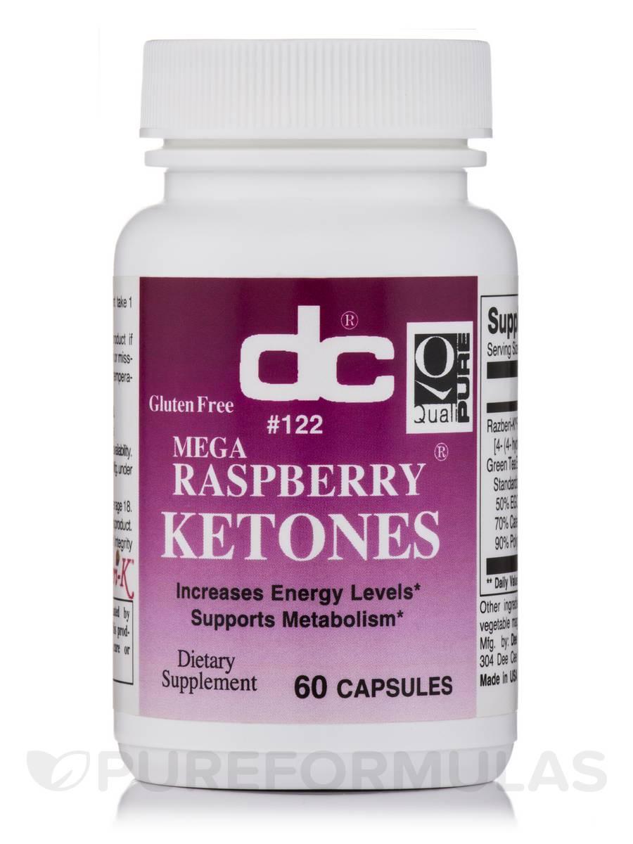 Mega Raspberry Ketones - 60 Capsules