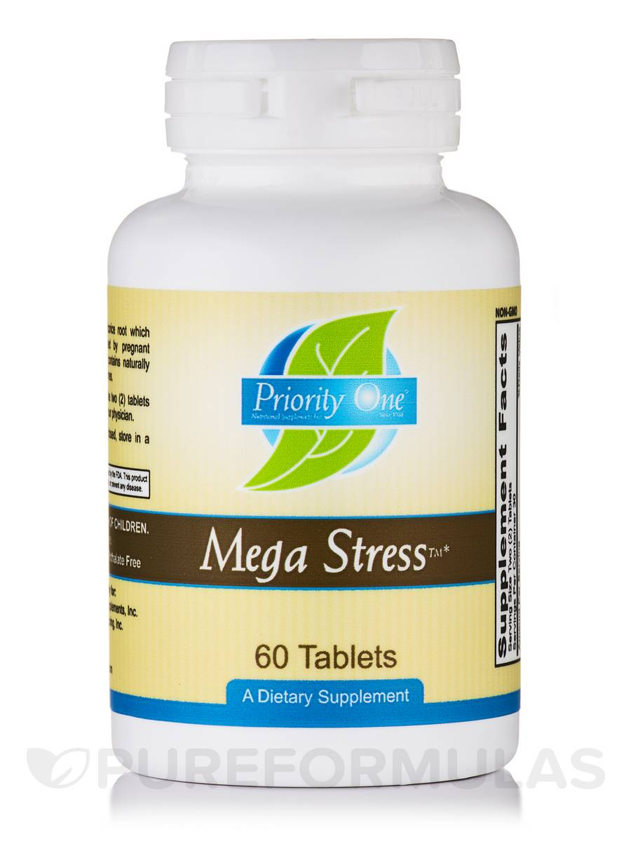 Mega Stress - 60 Tablets
