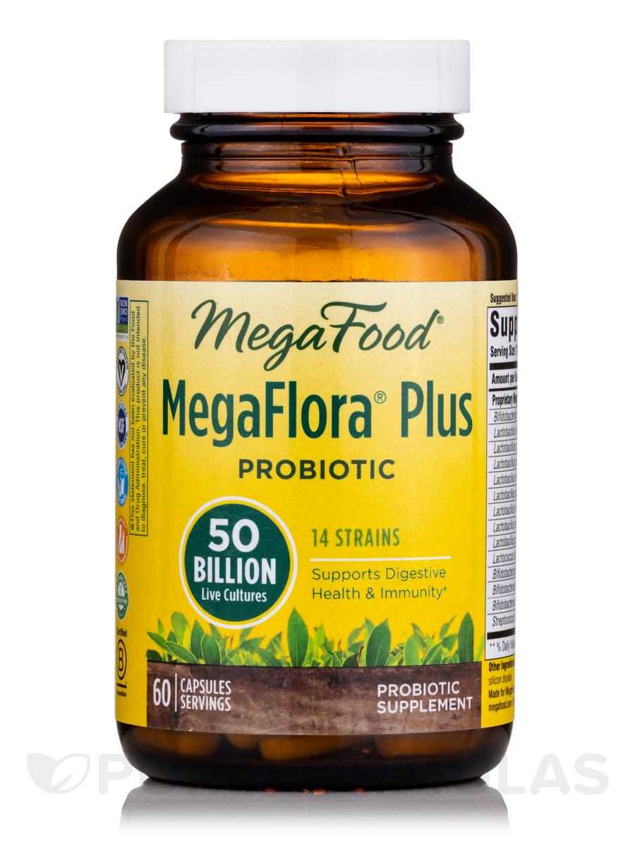 MegaFlora® Plus - 60 Capsules