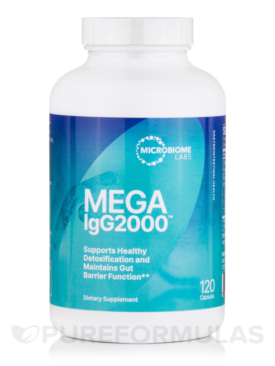 MegaIgG2000 - 120 Capsules
