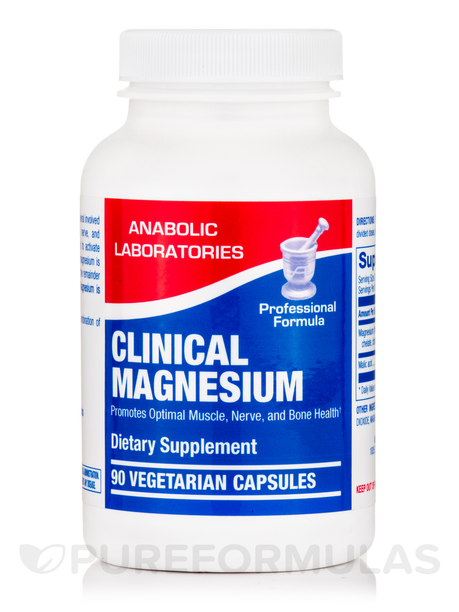 Clinical Magnesium - 90 Vegetarian Capsules