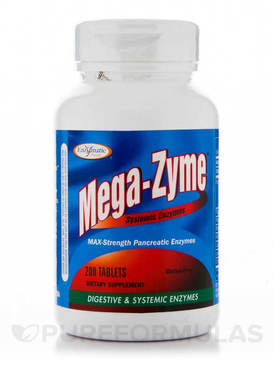 Mega-Zyme - 200 Tablets
