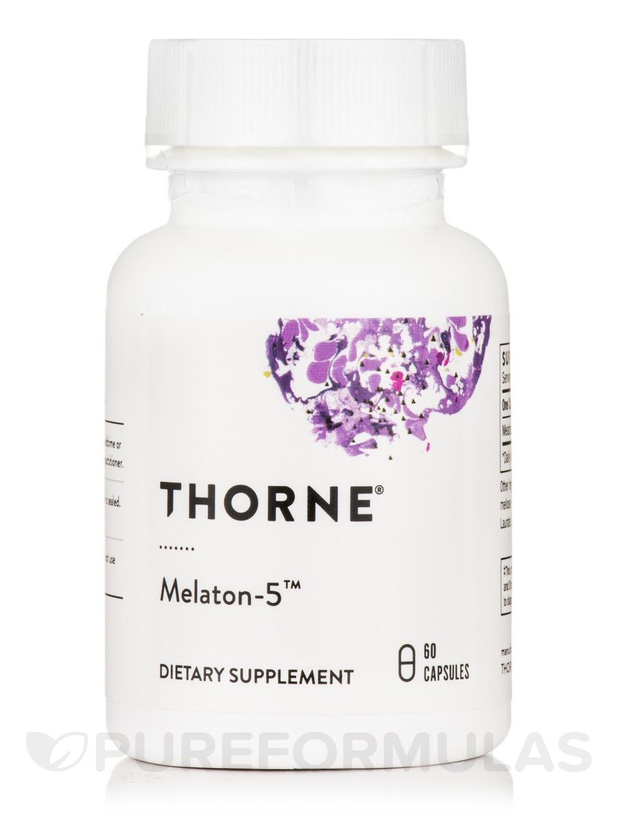 Melaton-5™ - 60 Vegetarian Capsules
