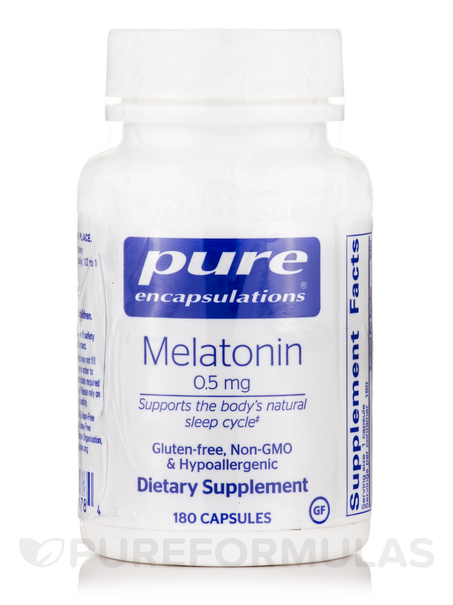 Melatonin 0.5 mg - 180 Capsules