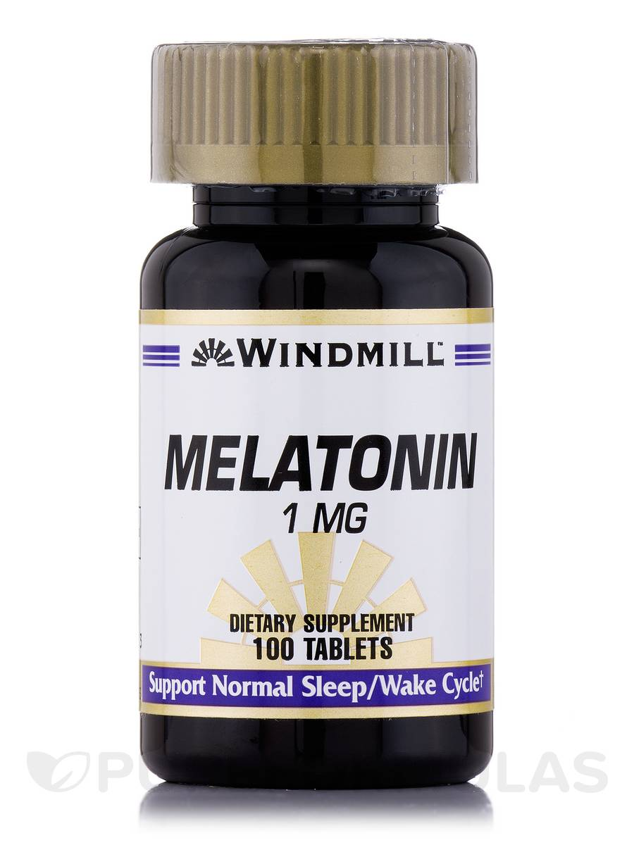 Melatonin 1 mg - 100 Tablets