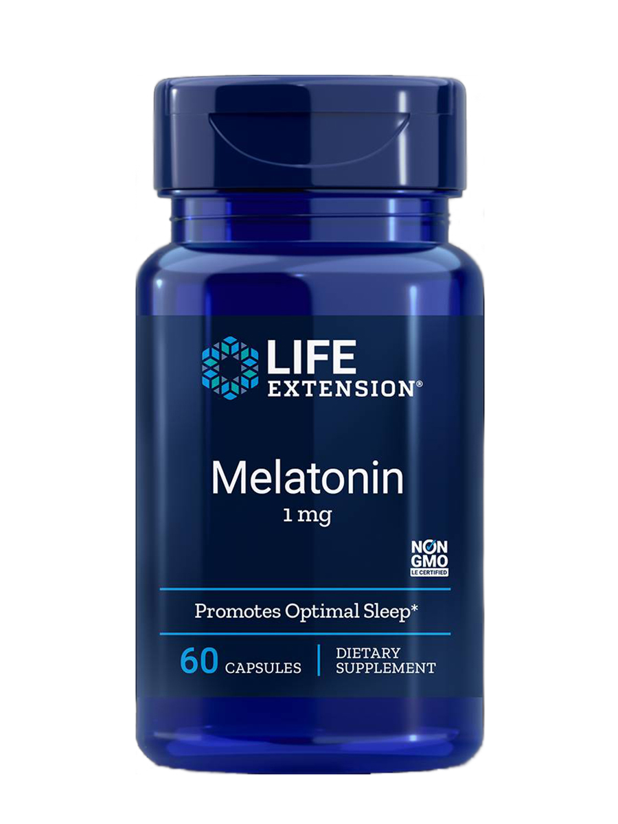 Melatonin 1 mg - 60 Capsules
