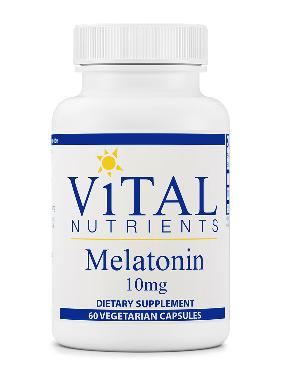 Melatonin 10 mg - 60 Vegetarian Capsules