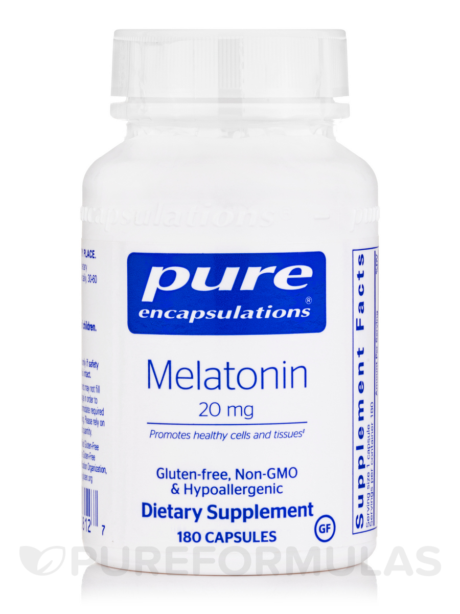 Melatonin 20 mg - 180 Capsules