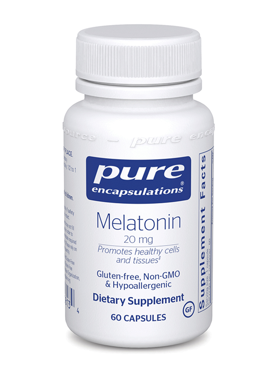 Melatonin 20 mg - 60 Capsules