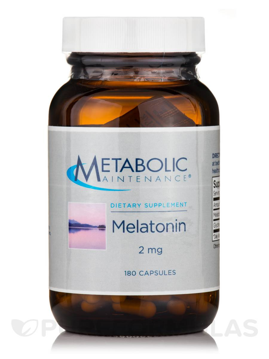 Melatonin Time-Release 2 mg - 180 Capsules