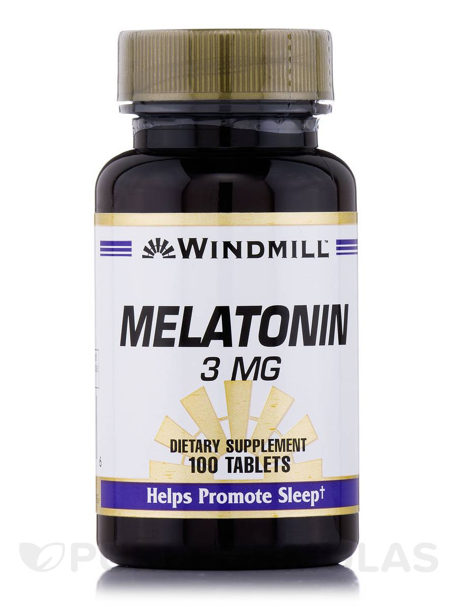 Melatonin 3 mg - 100 Tablets