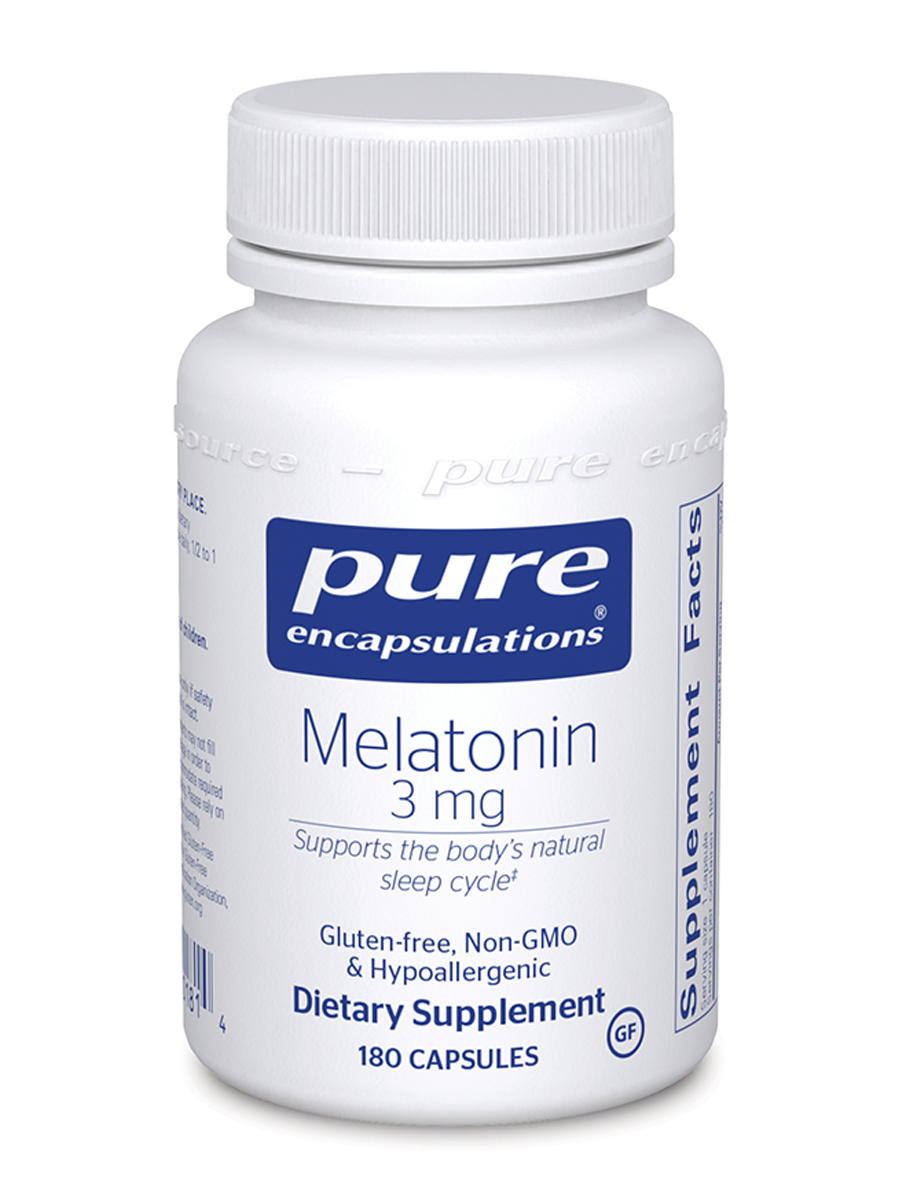 Melatonin 3 mg - 180 Capsules