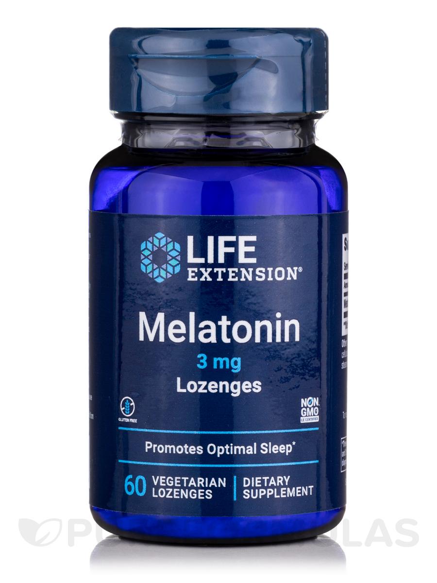 Melatonin 3 mg - 60 Lozenges