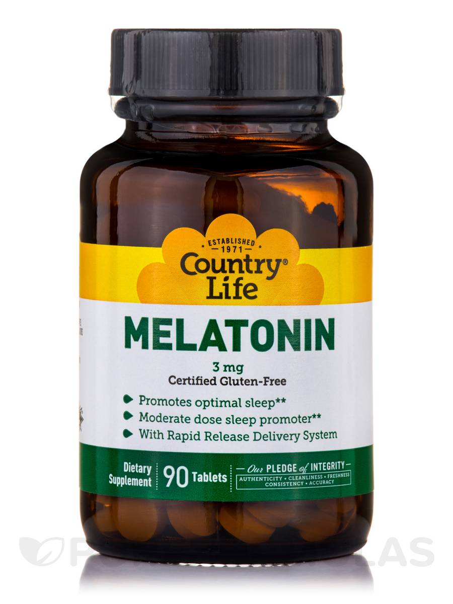 Melatonin 3 mg - 90 Tablets