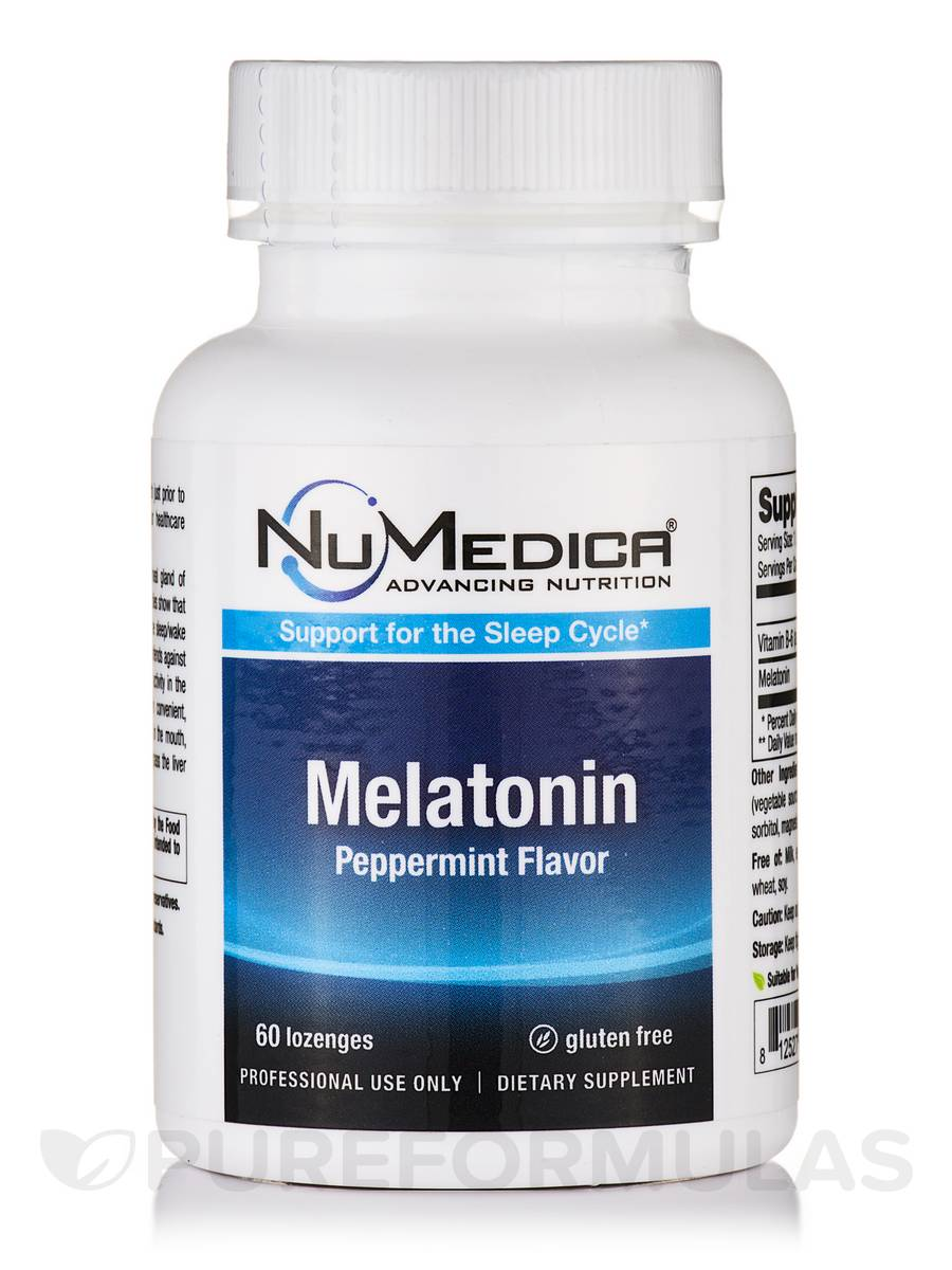 Melatonin 3 mg (Peppermint Flavor) - 60 Lozenges
