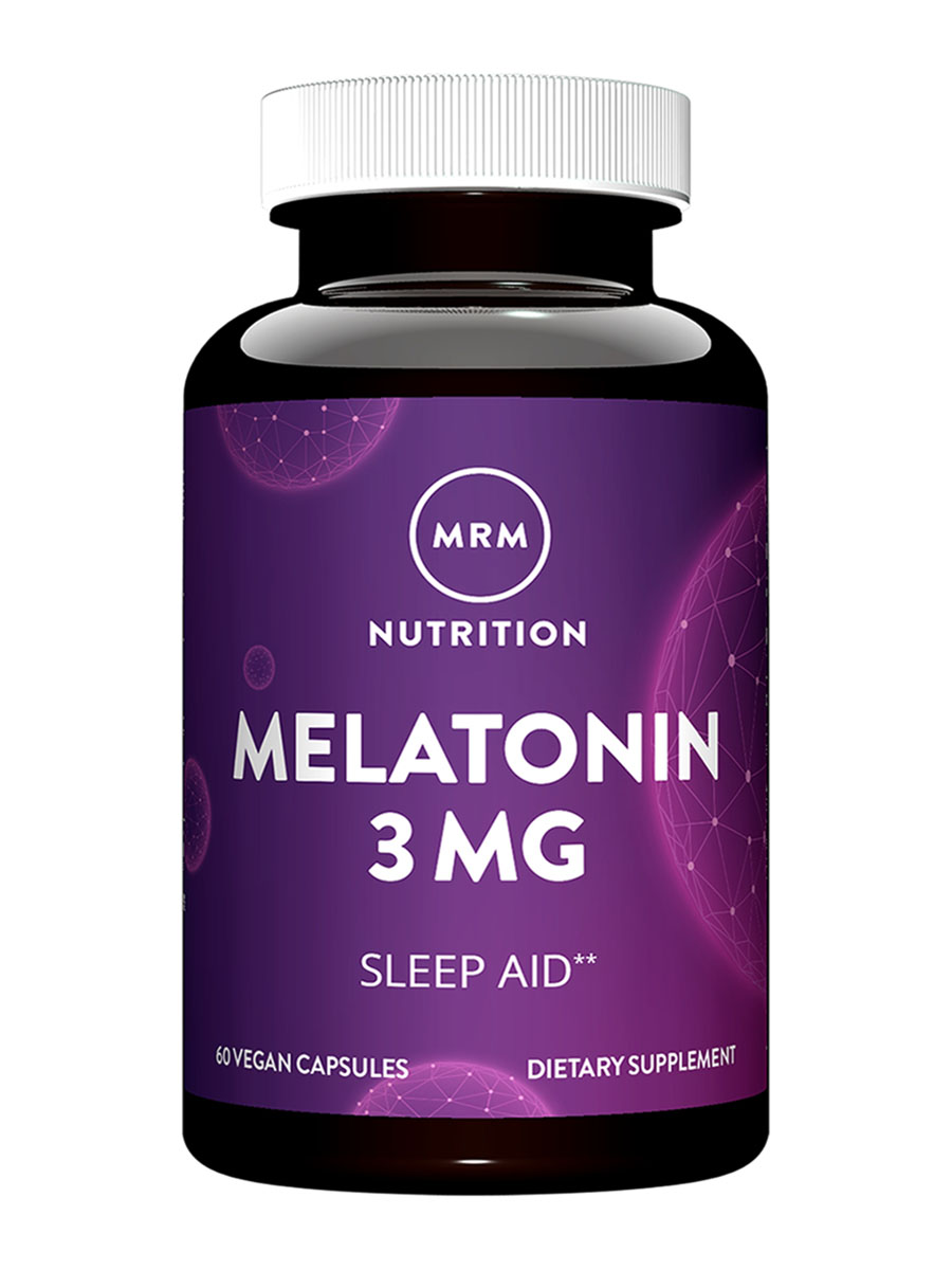 Melatonin 3 mg - 60 Vegetarian Capsules