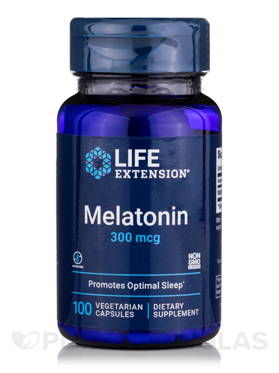 Melatonin 300 mcg - 100 Vegetarian Capsules
