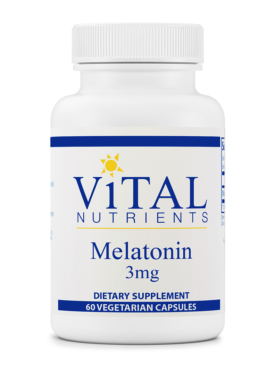 Melatonin 3 mg - 60 Vegetable Capsules