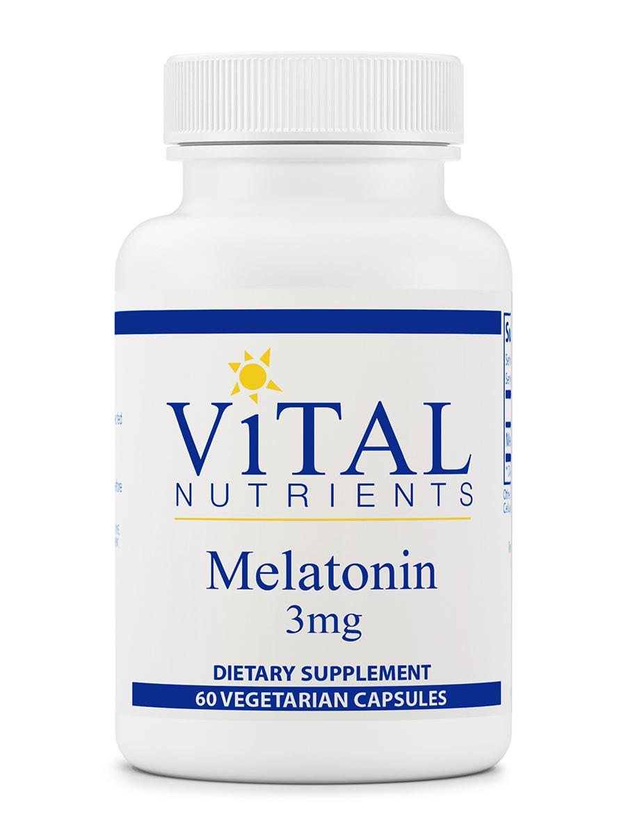 Melatonin 3 mg - 60 Vegetarian Capsules