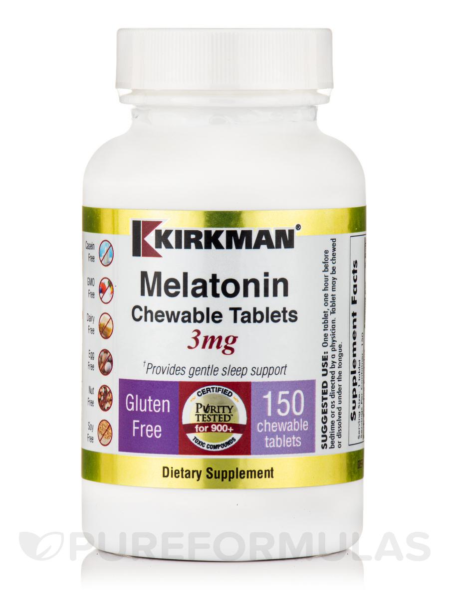 Melatonin Chewable 3 mg - 150 Tablets