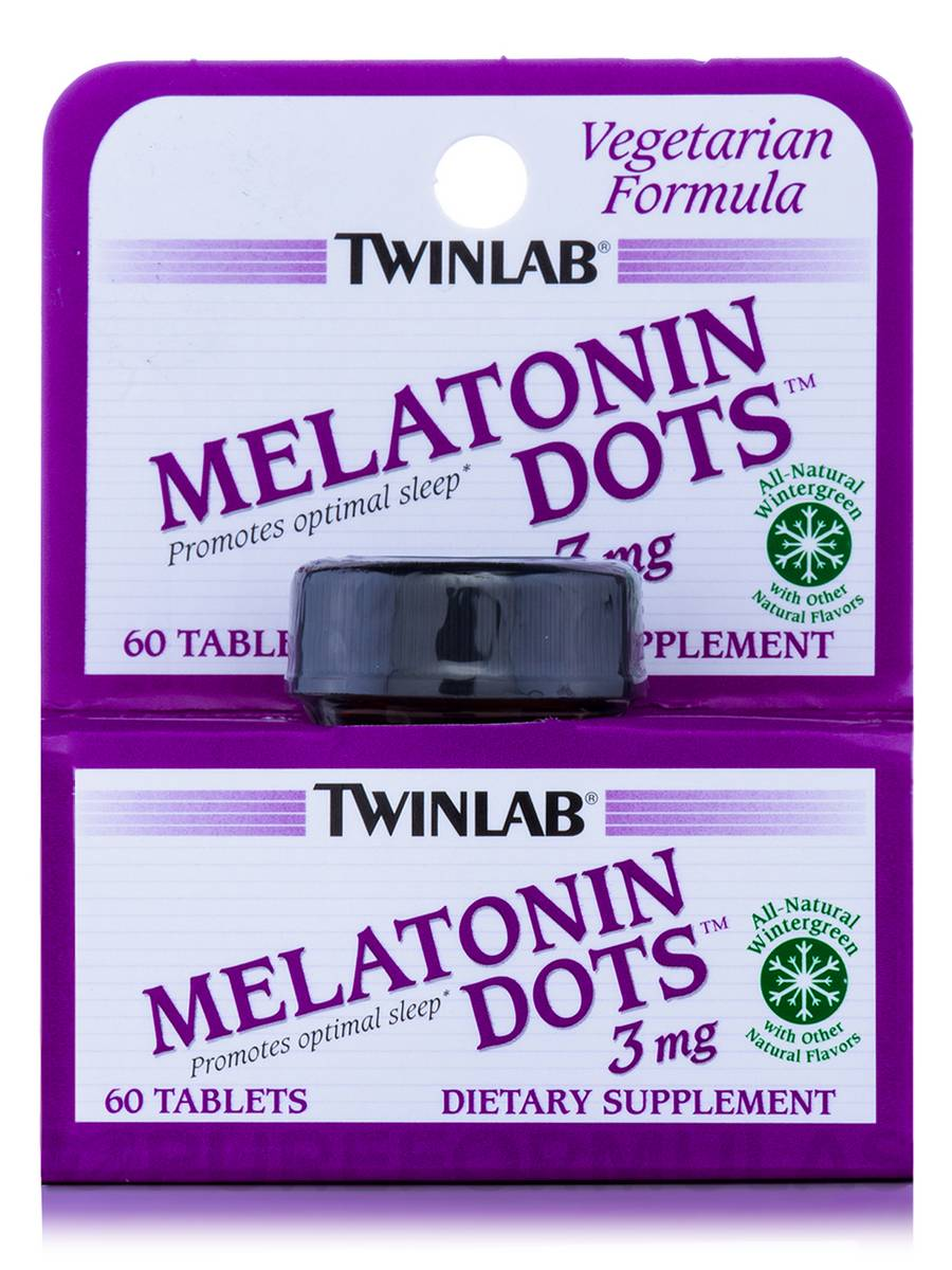 Melatonin Dots 3 mg - 60 Tablets
