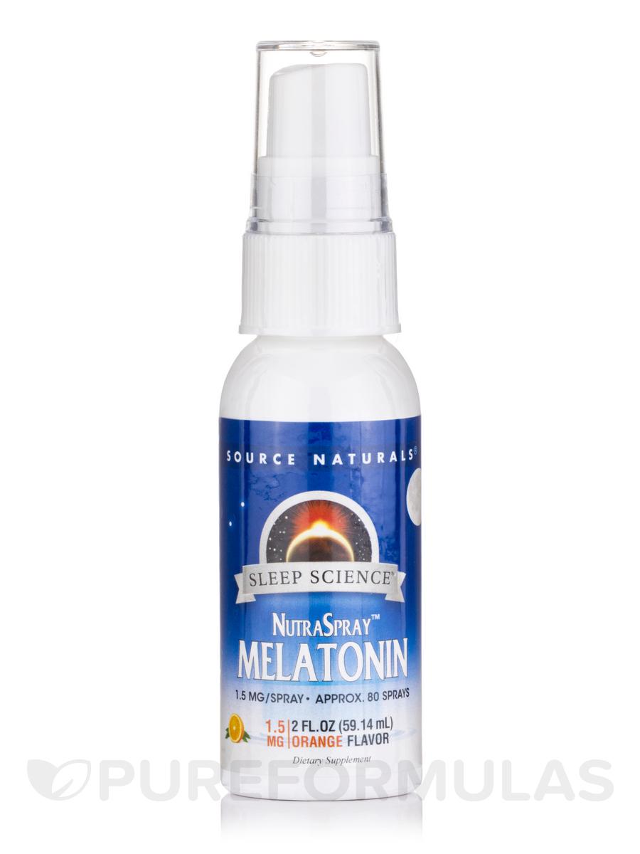 Melatonin Nutraspray Orange - 2 fl. oz (59.14 ml)