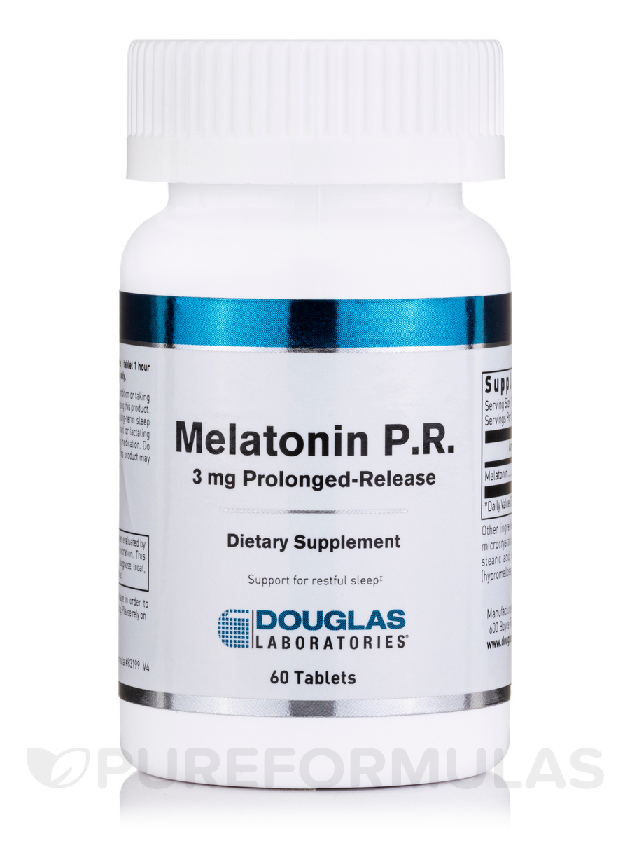 Melatonin 3 mg Prolonged Release - 60 Tablets