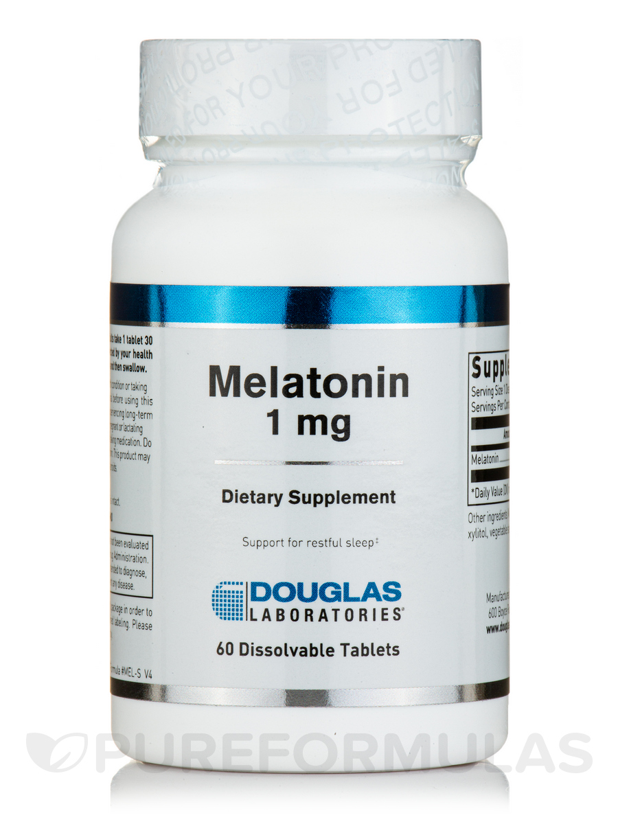 Melatonin 1 mg - 60 Tablets