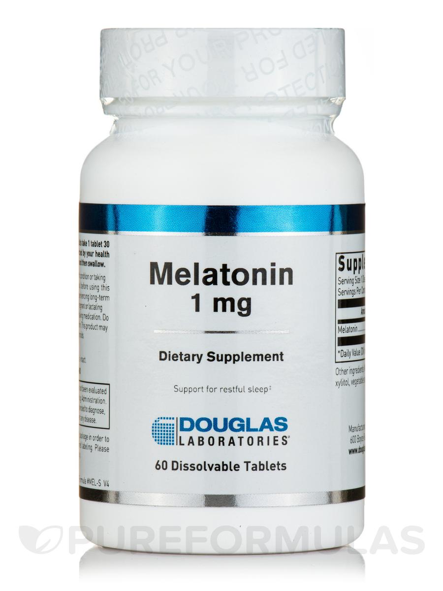 Melatonin 1 mg - 60 Tablets