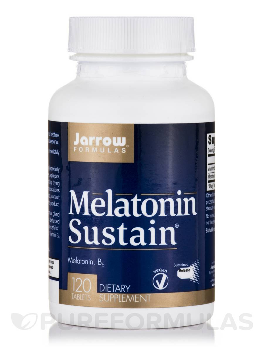 Melatonin Sustain 1 mg - 120 Tablets