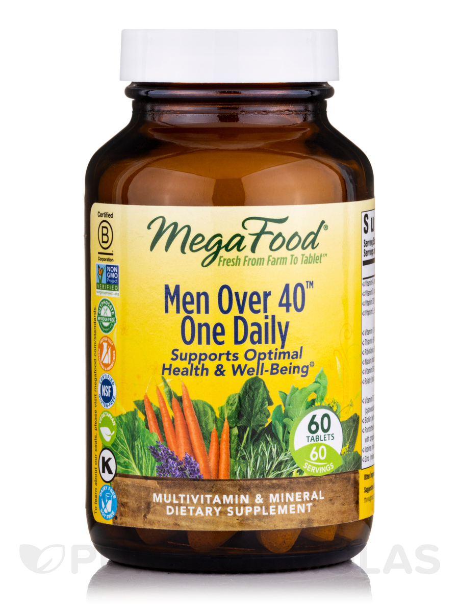 Men Over 40™ One Daily - 60 Tablets