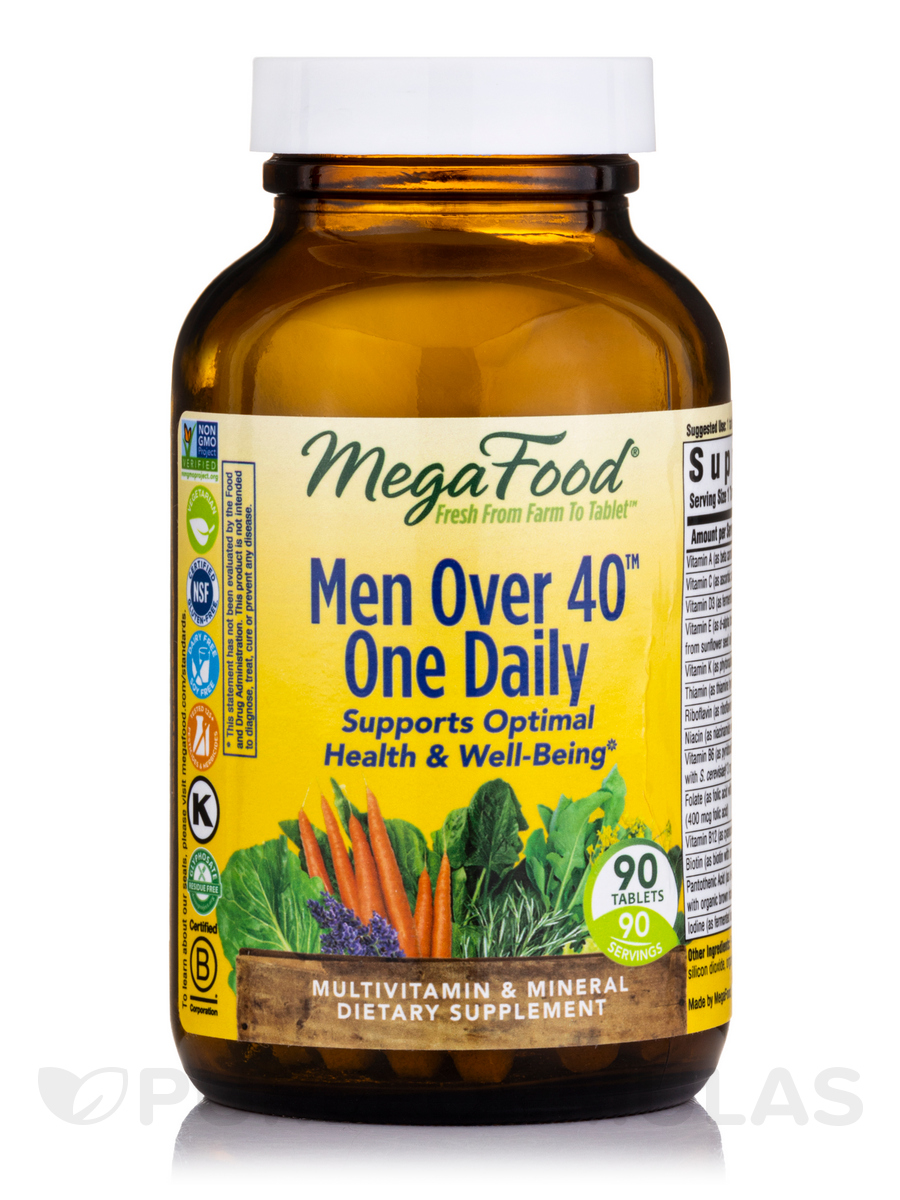 Men Over 40™ One Daily - 90 Tablets