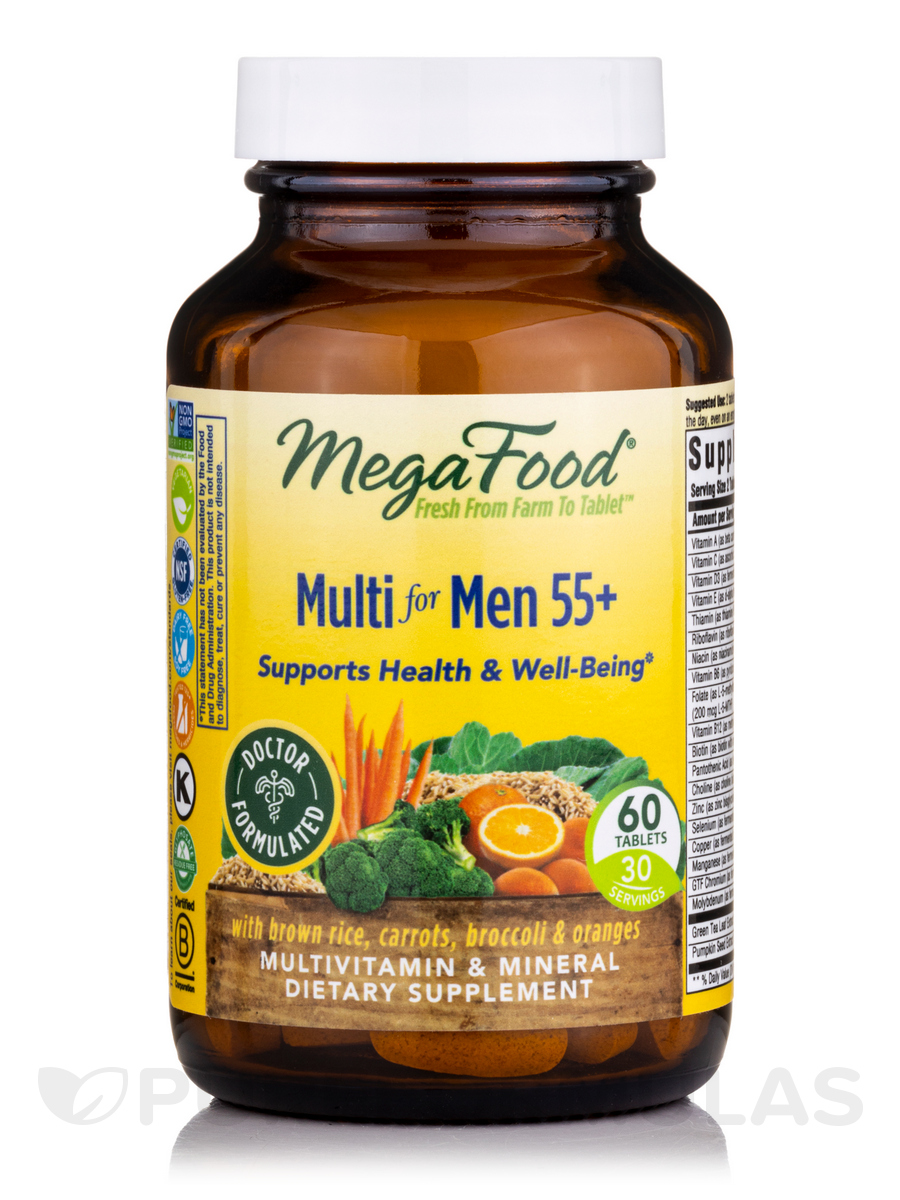 Multi for Men 55+ - 60 Tablets